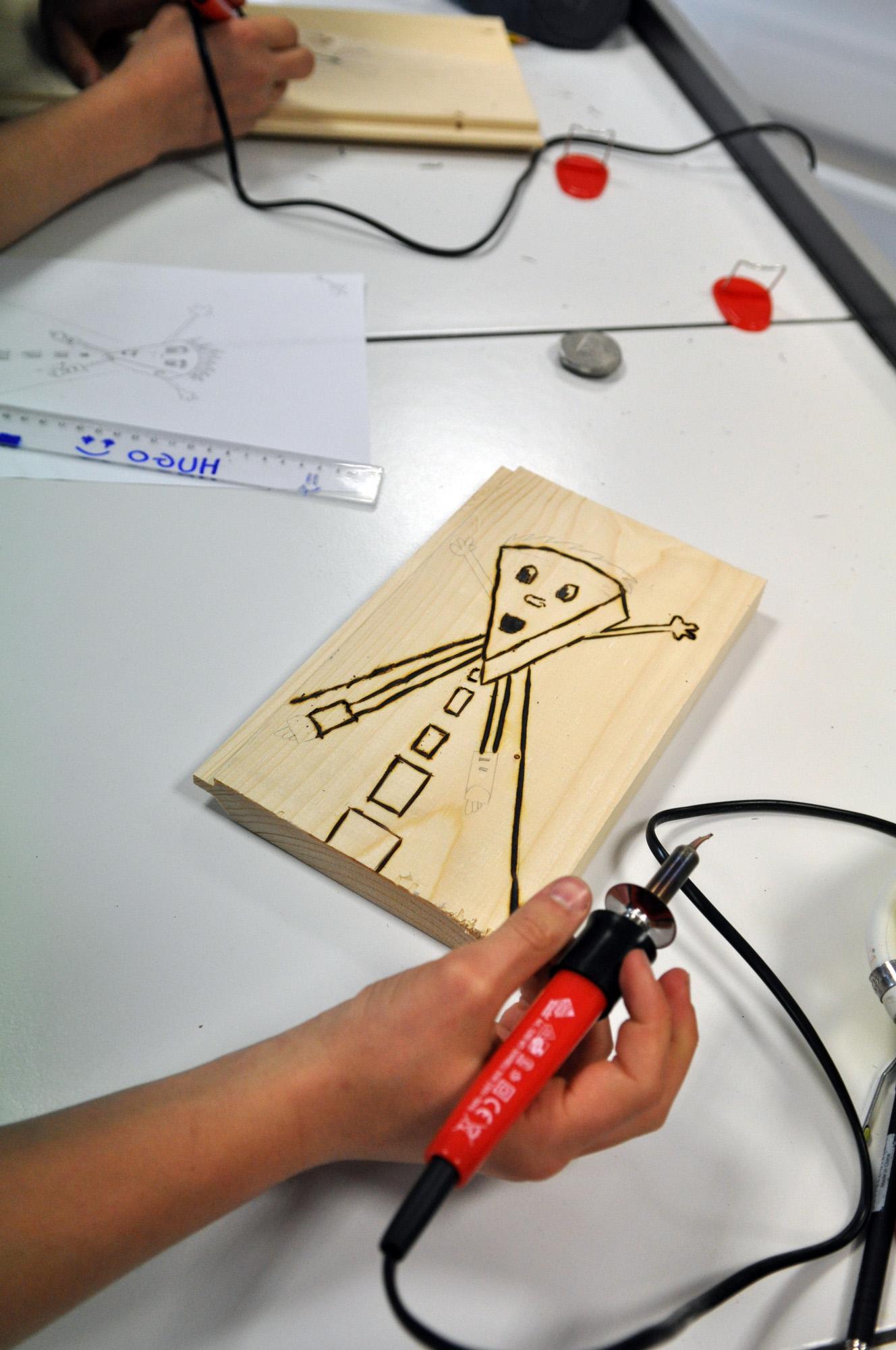 Atelier Pyrogravure Pour Enfant Avec Animateur 2 à 5h